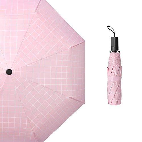 GFF Sasan Umbrella Regenschirm Englischer Regenschirm Regenschirm dreifach klar, Pink