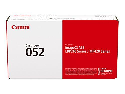 Canon cartucho 052 de tóner original negro para impresoras láser i-SENSYS LBP212dw, LBP214dw, LBP215x,i-SENSYS MF421dw,,MF426dw, MF428x, MF429x