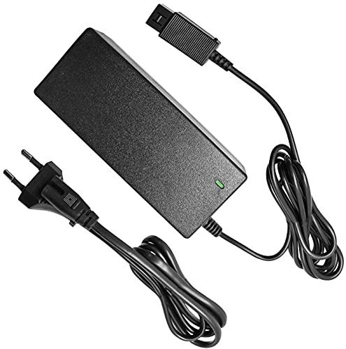 Eaxus® Netzteil geeignet für Nintendo Wii - 2,1 Meter Ersatz Stromkabel AC Adapter
