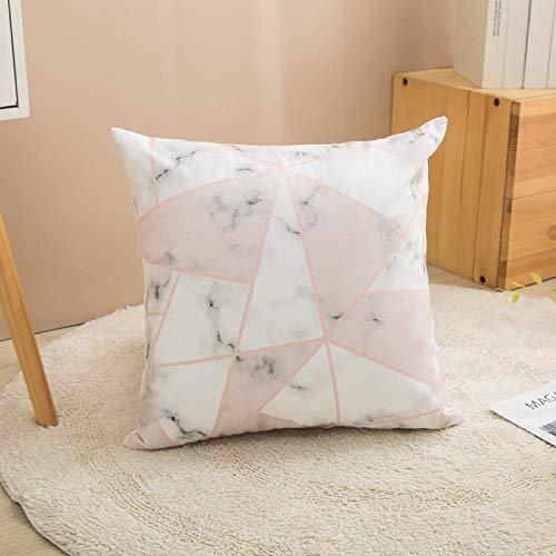 Almohada,Diseño ergonómico para un Mejor Soporte para Dormir en la Cabeza, el Cuello y los Hombros Almohada -1_40 * 40 cm