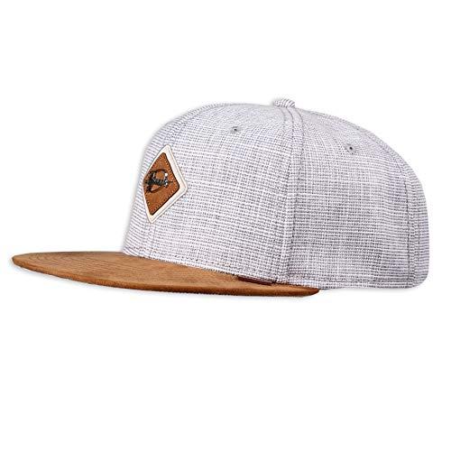 Djinns - Metal Patch (Grey) - Snapback Cap Baseballcap Hat Kappe Mütze Caps