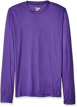 AquaGuard Men s TM36-TT11L-Zone Performance Long Sleeve T-Shirt Sport Purple XXX-Large