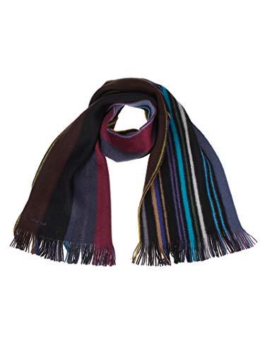 Luxury Fashion | Paul Smith Heren M1A810EAS1079 Zwart Wol Sjaals | Herfst-winter 19