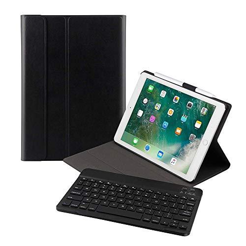Ewin iPad 9.7 キーボードカバー 脱着式Bluetooth キーボード&保護ケース スタンド機能付き 超軽量 スマー...