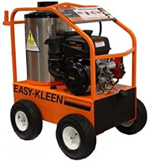 Easy-Kleen EZO3504G-K Commercial Hot Water Gas-Oil Fired Pressure Washer, 4 GPM, 3500 psi, 14 hp Kohler, Gearbox Drive, Electric Start, Orange