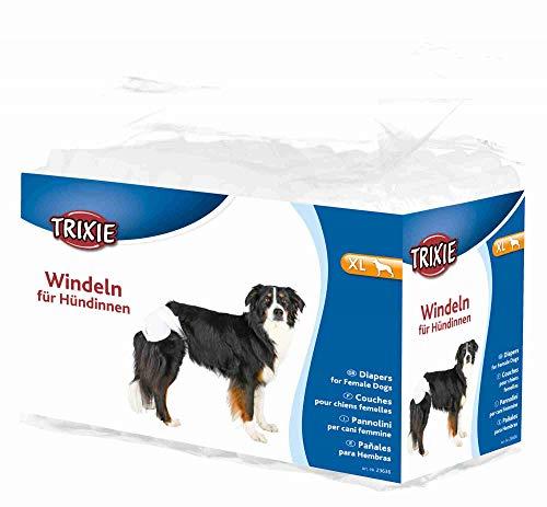 Trixie 23636 Windeln für Hündinnen, XL: 40–58 cm, 12 St.
