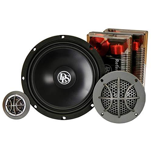 DLS RC6.3Q-40 16,5cm / 6,5 Zoll 3-Wege Kompo-Lautsprecher | 100W RMS | 4Ohm | 40th Anniversary Edition | Einbautiefe: 75mm | Empfindlichkeit: 90dB 1w/1m