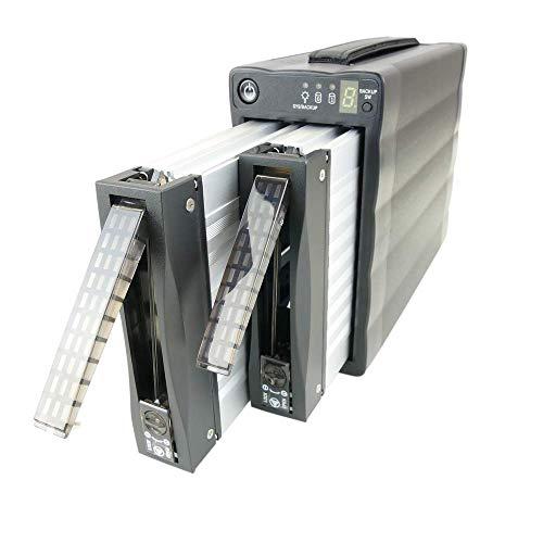 Cablematic 3.5 buitenkast eSATA HDD naar 2xSATA + USB2 (RAID afneembaar)