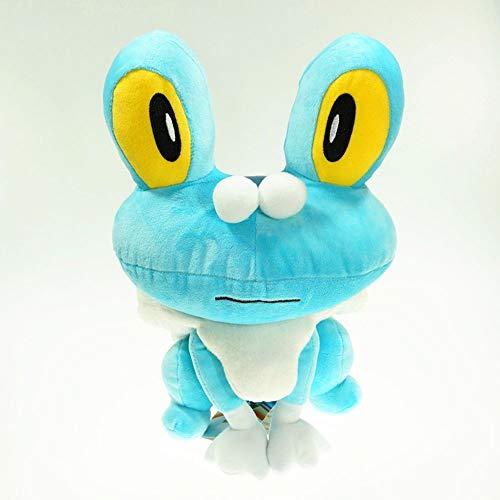 HHtoy 30CM Froakie de Juguete de Felpa Almohadilla de la Historieta Tipo Agua Burbuja de la Rana Pokemon Suave Relleno muñeca Anime Figuras Niños compañero de Marionetas cumpleaño