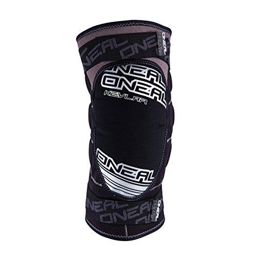 O'Neal Sinner Knie Protektor Grau Weiß IPX Aramidfaser DH MTB FR AM Schoner, 0268-50, Größe Large