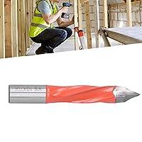 ドリル ビット、ドリル ビット スパイラル トゥース デザイン 木工用装飾用の低抵抗抵抗(T10*70L)