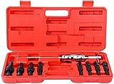 FreeTec Juego de 9 Martillos Deslizantes Para Extractor de Rodamientos Internos (8-32 mm)