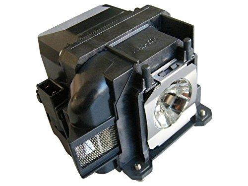 azurano Beamer-Ersatzlampe | Kompatibel mit EPSON ELPLP78, V13H010L78 | Beamerlampe mit Gehäuse | EH-TW490, EB-945, EB-955W, EB-965, EB-98, EB-S03, EB-S17, EB-S18, EB-W03, EB-W18, EB-W22, EB-X03,