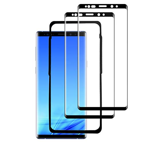 ZSYFFF Note 9 Screen Protector [2Pack], Note 9 Tempered Glass [3D Curved][Case Friendly][Alignment Frame] Screen Protective Film for Samsung Galaxy Note 9