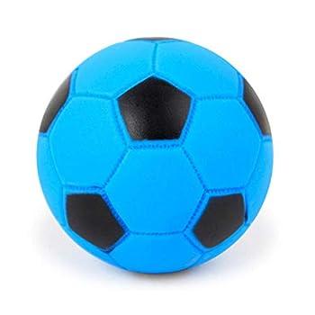 Ogquaton Squeaky Dog Ball Pets Chew Toy Sonner Exercice Ball Molaire Jouets Interactive Ball Squeak Dog Formation Jouer Pour Pet Bite Chew Aléatoire ColorFootball Pratique Et Pratique
