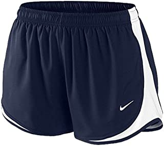 3c6a2e0a5e39 NIKE Women Racer Short-Navy-Large