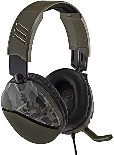 Turtle Beach Recon 70 Green Camo Gaming Headset - Xbox One, PS4, PS5, Nintendo Switch, & PC