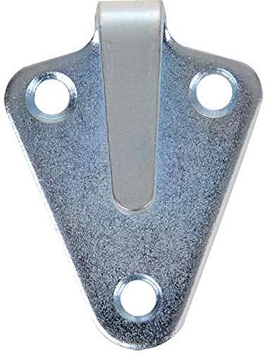 iapyx 20 Stück Dreiloch Planenhaken hochwertig gestanzt verzinkt im Polybeutel