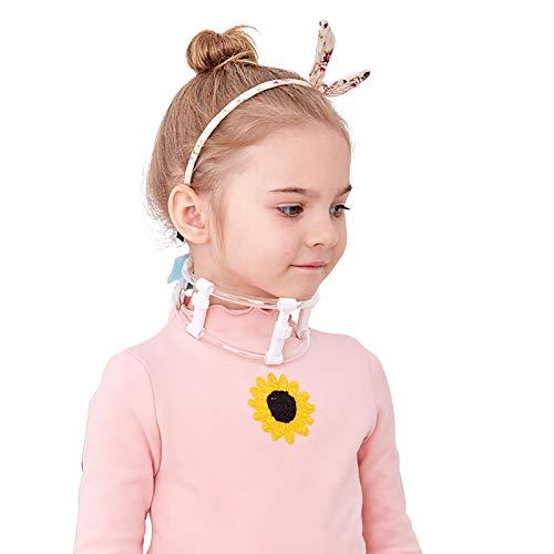 HYRL Ortesis de Cuello Torcido tortícolis Ajustable para niños con Juego de Protector de Cuello - Inclinación de Cabeza eficazmente Correcta - Se Utiliza para bebés de 8 Meses a 8 años de Edad