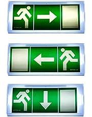 Panneau d'indication de sortie de secours lumineux