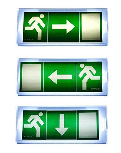 Notleuchte Notbeleuchtung Exit Notausgang Fluchtwegleuchte Notlicht Fluchtweg EXIT IL pf
