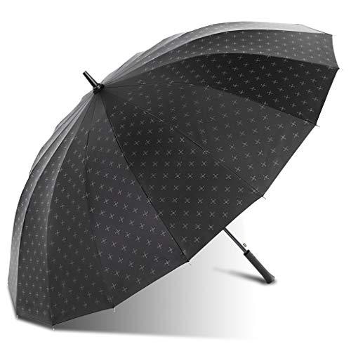 ZhuFengshop Automatische paraplu, 16 boten, UV-zonnescherm, voor mannen en vrouwen, draagbaar, waterdicht, uv, zon en zomer