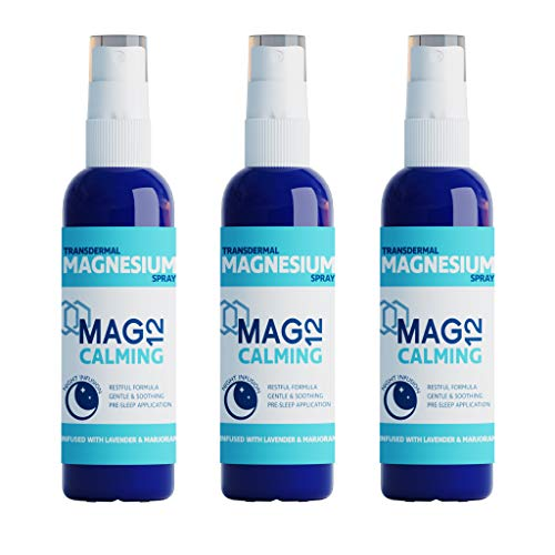 MAG12 Calming Magnesium Spray Bundle (3 x 100ml) | Soothes & Promotes Calm Prior to Sleep