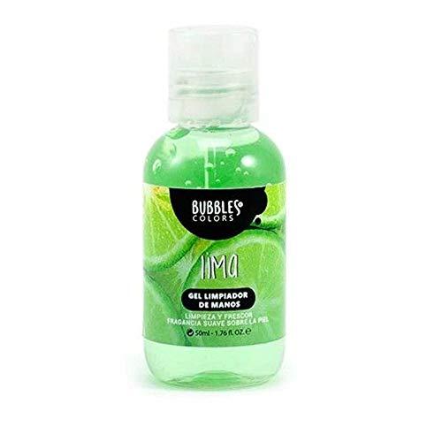 Gel hidroalcohólico antiséptico.Limpieza y desinfección de manos sin aclarado (Lima,  50 ml)