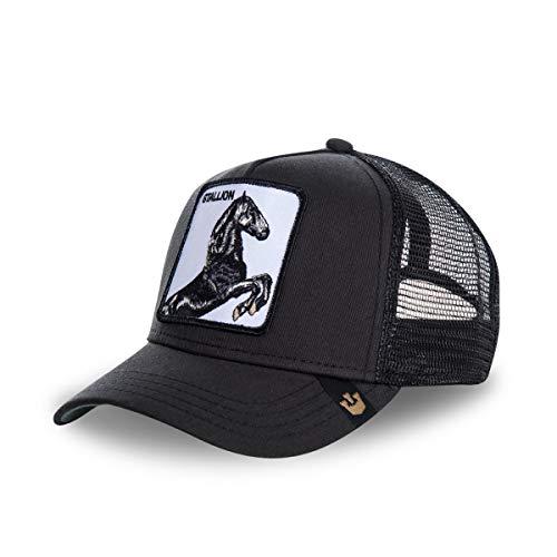 Goorin bros - Trucker Cap - Stallion/Pferd - Black - One-Size