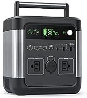 Puleida ポータブル電源 大容量 140000mAh/518Wh 3.5時間で満充電 アウトドア 家庭用蓄電池 非常用電源 純正弦波AC(600W 瞬間最大950W) PSE認証済み USB-C PD65W出力 DC/USB出力...
