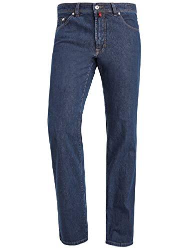 Pierre Cardin Dijon Herren Jeans Hosen Dark Denim 0323100161-02, Farbe:Blue Black Indigo, Größen W33/L32
