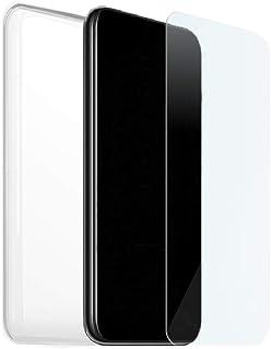 Skal + Härdat Glas För Huawei P40, Silikon- Och Glasfodral, Mjukt Gelöverdrag, Skärmskydd, 9H-Hårdhet, Transparent TPU-Gum...