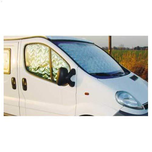 Preisvergleich Produktbild Vorhang für Windschutzscheibe + 2 Seitenfenster Renault Trafic & Opel Vivaro 07 / 2001 bis 08 / 2014
