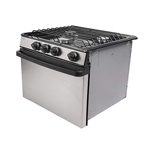 Dometic Atwood RV Range Oven Cook-top RV-1735 BSS Part# 52484