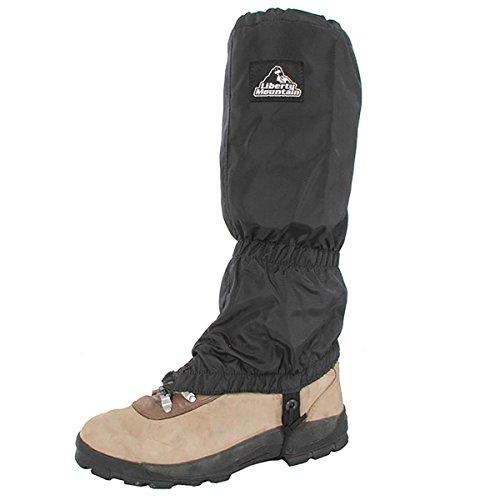 Liberty Mountain Nylon Gaiters, Noir
