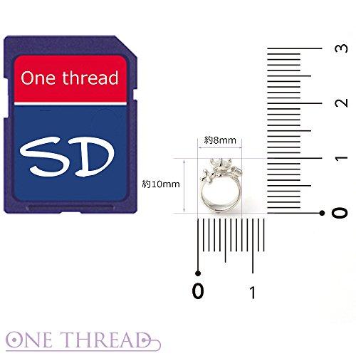 Onethread(ワンスレッド)『シルバーベビーリングネックレス』