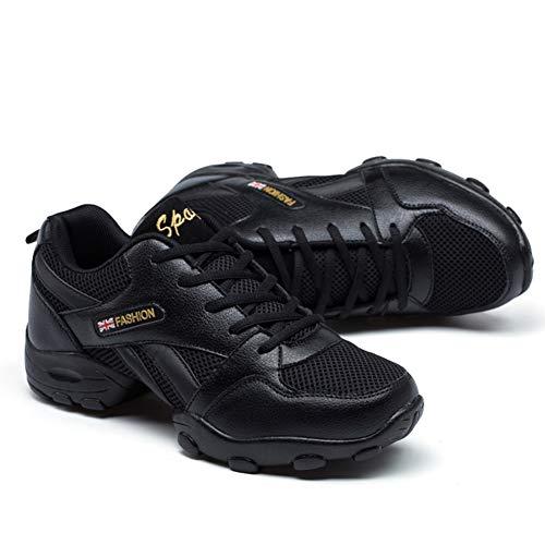 Zapatos Baile Latino para Hombre Comodos Transpirable Slip On Zapatillas