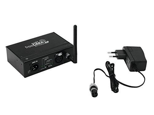 Eurolite freeDMX AP Wi-Fi Interface   Drahtloses WLAN-DMX-Interface für Apps & Programme wie Steinigke Light'J   WLAN-Standard IEEE802.11b/g/n