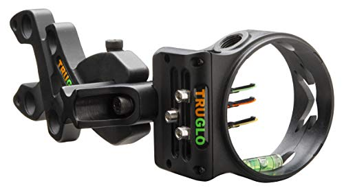 TRUGLO Storm Ultra-Lightweight Compact Bow Sight, 3-Pin , Black