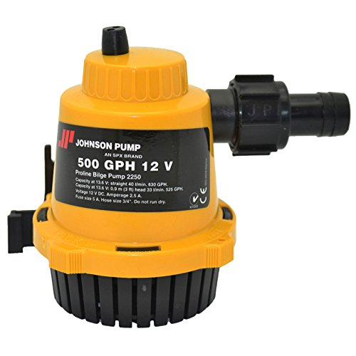 Johnson Pump 22502 Pro-Line Bilge Pump - 500 GPH