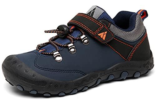Mishansha Été Enfants Chaussures de Randonnée Garçon Multisports Outdoor Chaussures de Course Fille Bleu 37