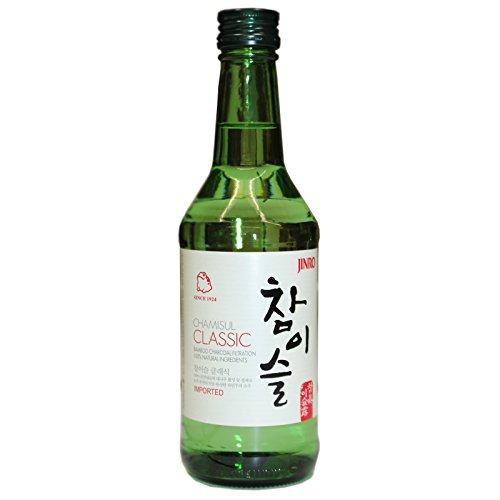 Jinro Chamisul Classic Koreanisches Alkoholisches Getränk 350ml