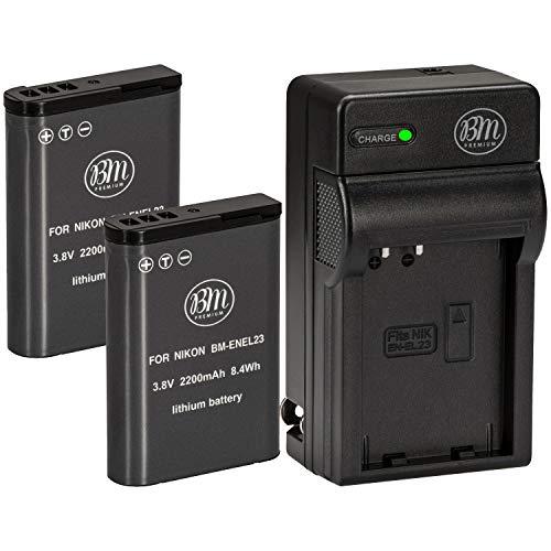 BM Premium 2 Pack of EN-EL23 Batter…