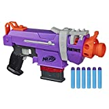 NERF Fortnite SMG-E Blaster -- Motorized Dart Blasting -- 6-Dart Clip, 6 Official Elite Darts -- for Youth, Teens, Adults