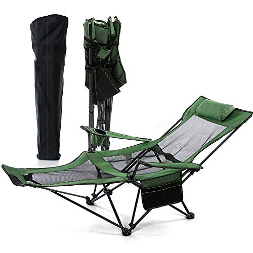 Folding Camping Chair Recliner and Lounge Chair