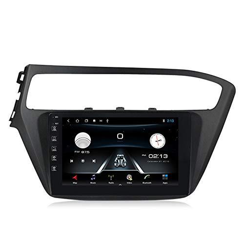 Android10.0 Autoradio Estéreo para Auto para Hyundai I20 2018-2019 navegación GPS Radio Enlace espejo AM/FM/SWC/Incorporado DSP+carplay(M300/PX6)+Cámara Trasera,M150,2+32G