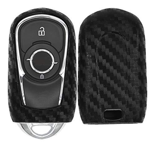 Carbon Soft Case Schutz Hülle Auto Keyless Schlüssel Kompatibel mit OPEL Astra K Insignia B Zafira C Mokka