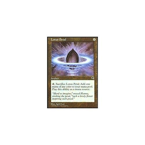 Magic The Gathering - Lotus Petal - Tempest by
