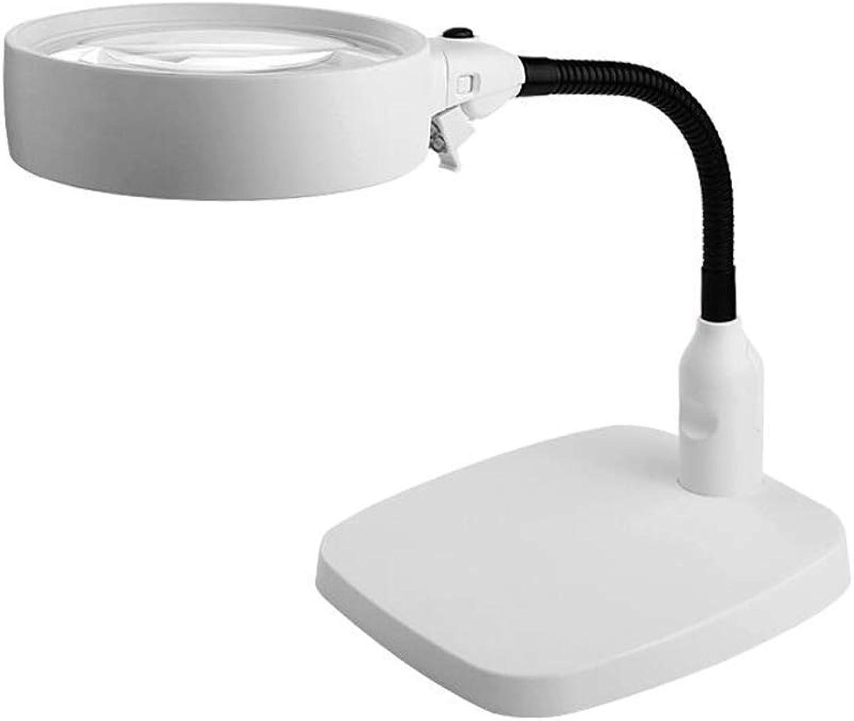 Tischplattenlupen-Handy-Reparatur-Stich mit Reparatur-Tabellen-elektronischer Tischlampe der Lichter HD (ausgabe   10X)