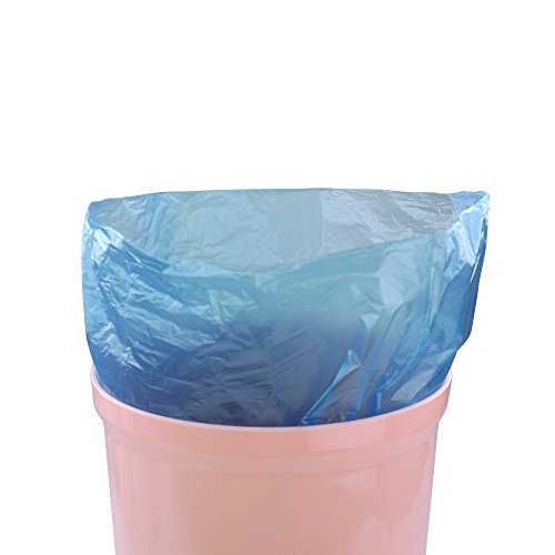 Hommp 10 Gallon Kitchen Trash Bags, 120 Counts/ 6 Rolls